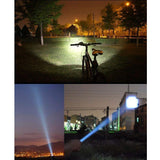 Mini USB Rechargeable LED Flashlight Torch Q5 Zoomable 3 Modes Adjustable Focus for Outdoors