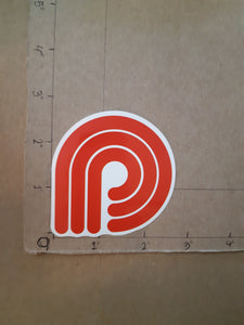 "Powell-Peralta Skateboards ""P"" Vinyl Sticker."