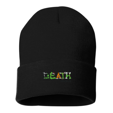 Death Creatures - 12 Inch Solid Knit Beanie.