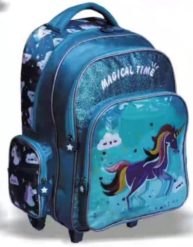 Schoolmate 3 Piece Trolley Backpack