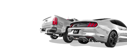 MagnaFlow equipped Dodge RAM and Ford Mustang