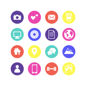 Image of Instagram Highlight Covers with icons for Altitude Media Shop