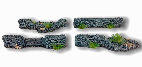 Warhead Studio Historical Stone Wall Set - 6 pieces