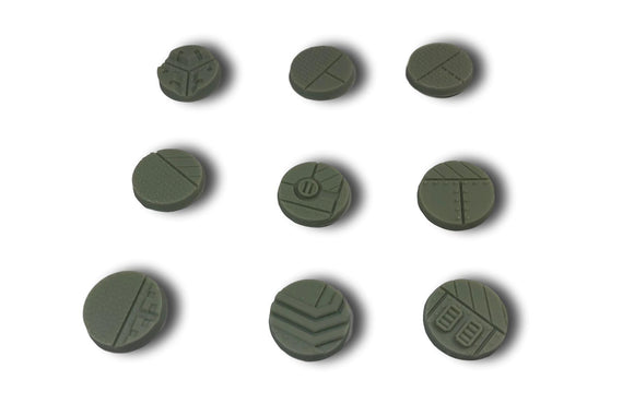 WarheadStudio Industrial Bases - 25mm (10)