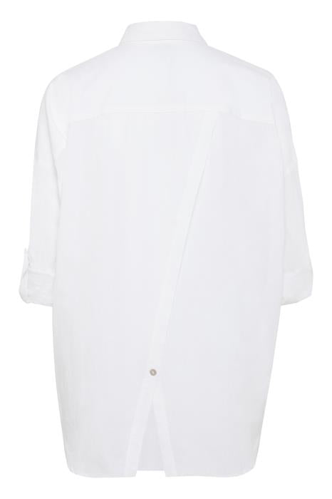BLOSSOM oversized shirt with stripe trim detail