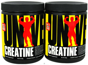 Universal Nutrition - Creatine Twin Pack 2 x 200 gramas