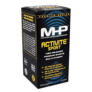 MHP - Activite Sport Multi-Vitamin Enzyme Activated Timed Release - 120 Caps - NutriVita
