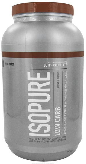 Nature's Best - Perfect Low Carb Isopure Dutch Chocolate - 3 lbs.(1361 g)