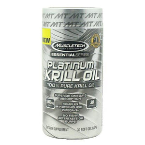 MuscleTech - Essential Series Krill Oil 30 Capsulas