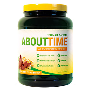 SDC Nutrition - About Time 100% Natural Whey Protein Isolate 2 lbs (908g)