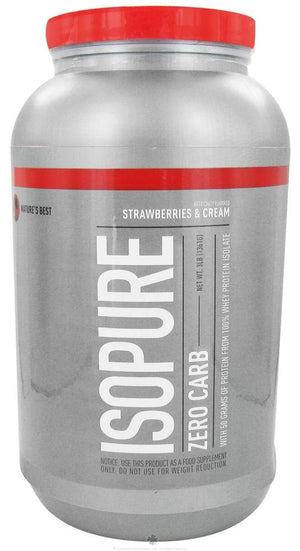 Nature's Best - Perfect Zero Carb Isopure - 3 lbs.