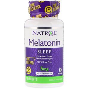Natrol Melatonina 5mg Time Release 100 CAPS