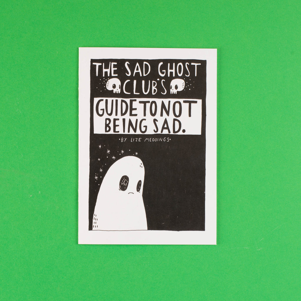 Guide To Being Sad - Zine