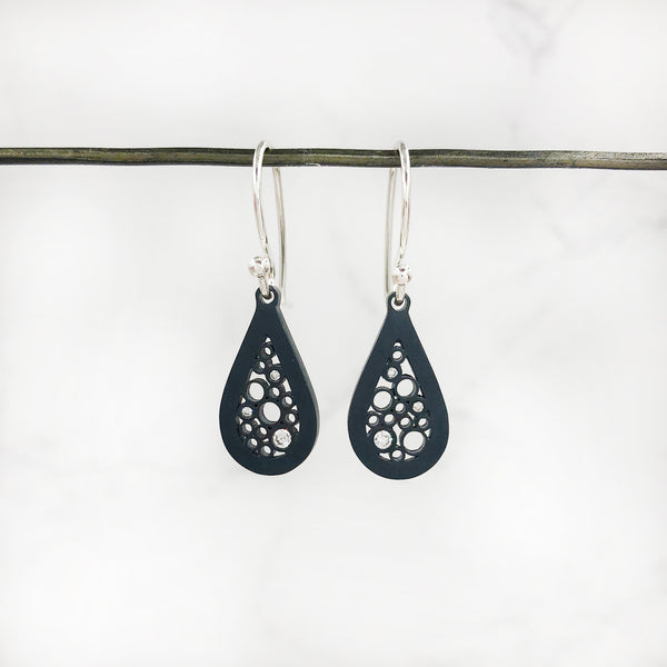 Belle Brooke - Petite Teardrop Earrings
