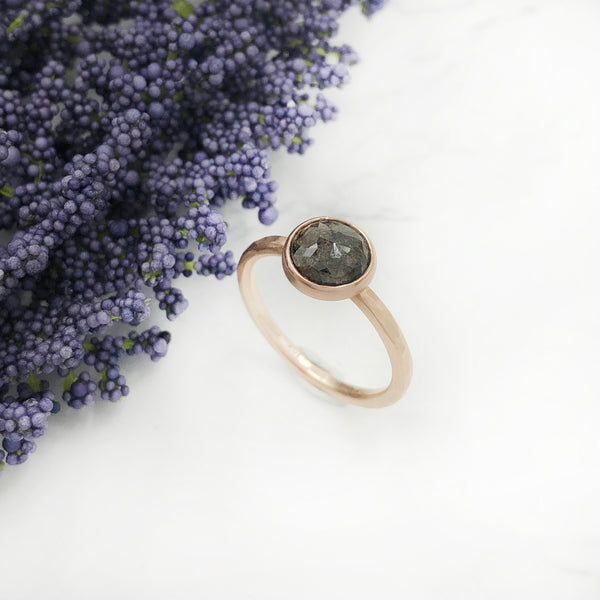 EC Designs - Brown Diamond Ring