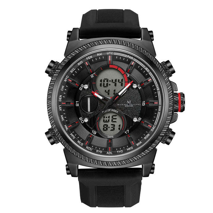 Adventurer | 48mm<small><br>Elite Silicone<br>Volcanic Black</b></small><center>