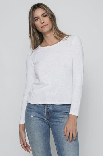 Easy Long Sleeve - White