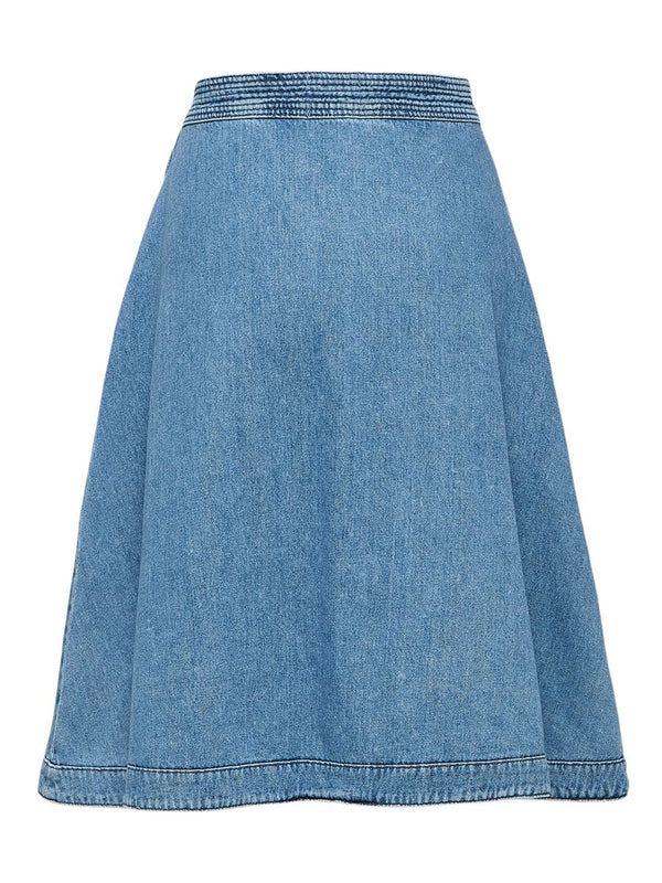 SLFJenner Denim Wrap Skirt