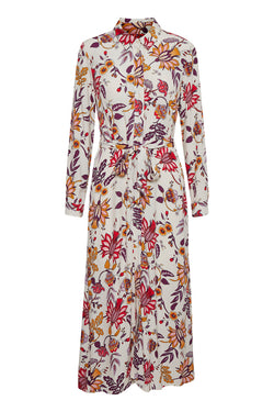 Part Two Shelby Floral Shirtdress
