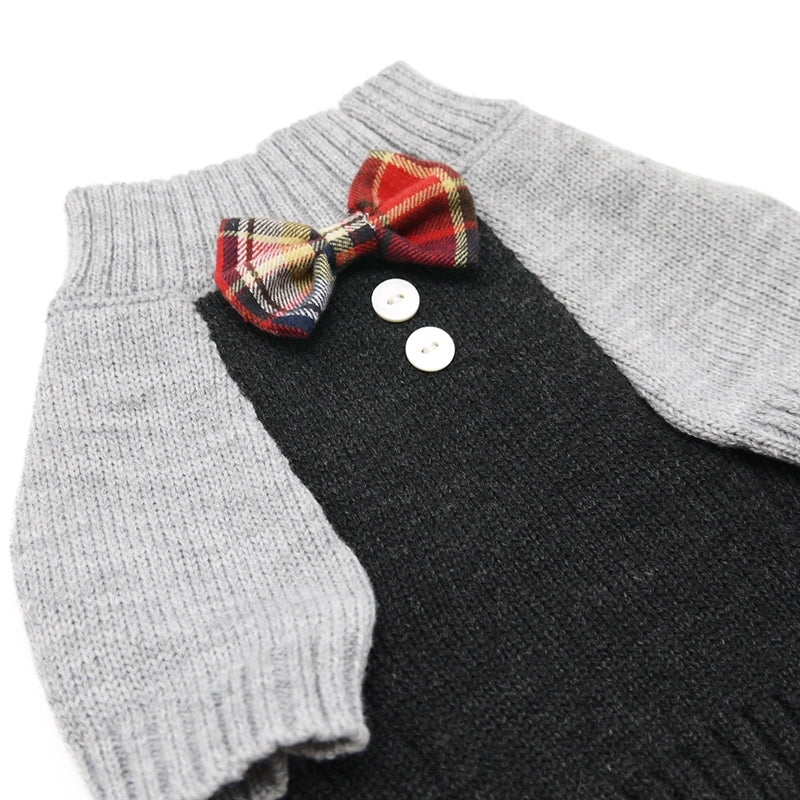 suspender sweater