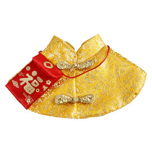 Tang Dynasty Festival Red Envelope Cat Cloak