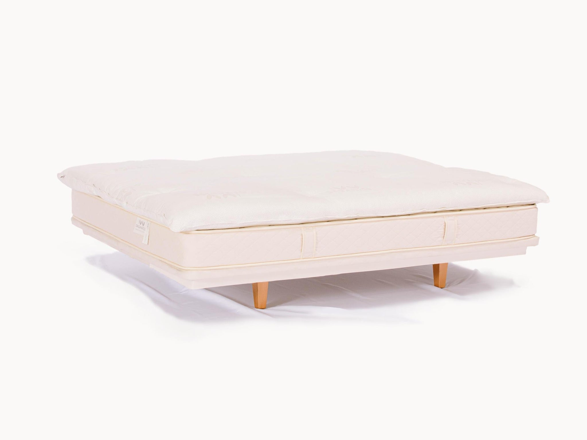 Wool Mattress Topper - 4 Inch