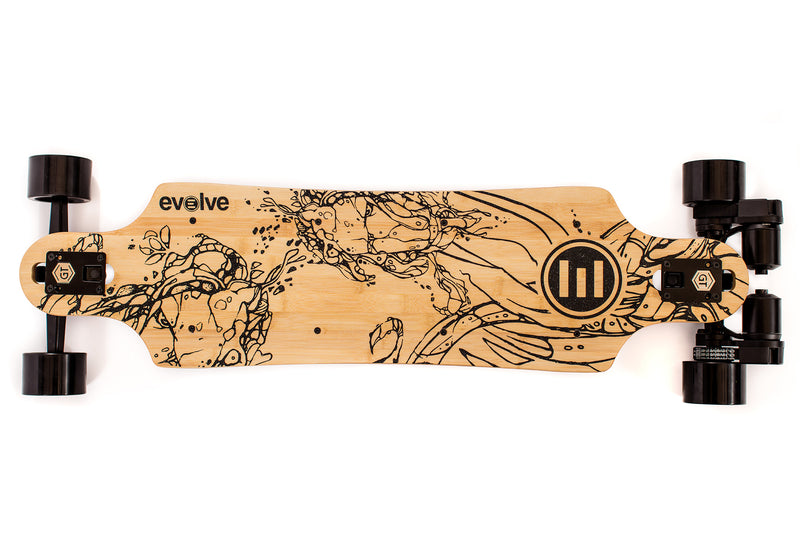 Electro Longboard Evolve Bamboo GT Series Street