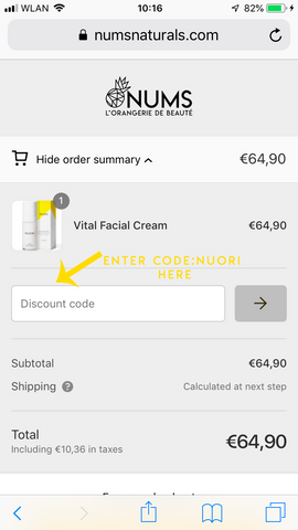 """How NUORI """"GIFT WITH PURCHASE"""" works! – Nums"""