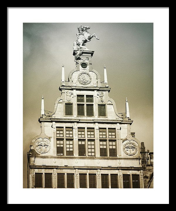 Brussels Features - Framed Print