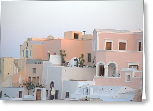 Oia Cityview - Greeting Card