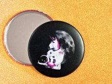 Load image into Gallery viewer, 3.5 Inch Mirror: Astronaut Unicorn - Color
