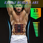 New improved version of EMS abdominal muscle training