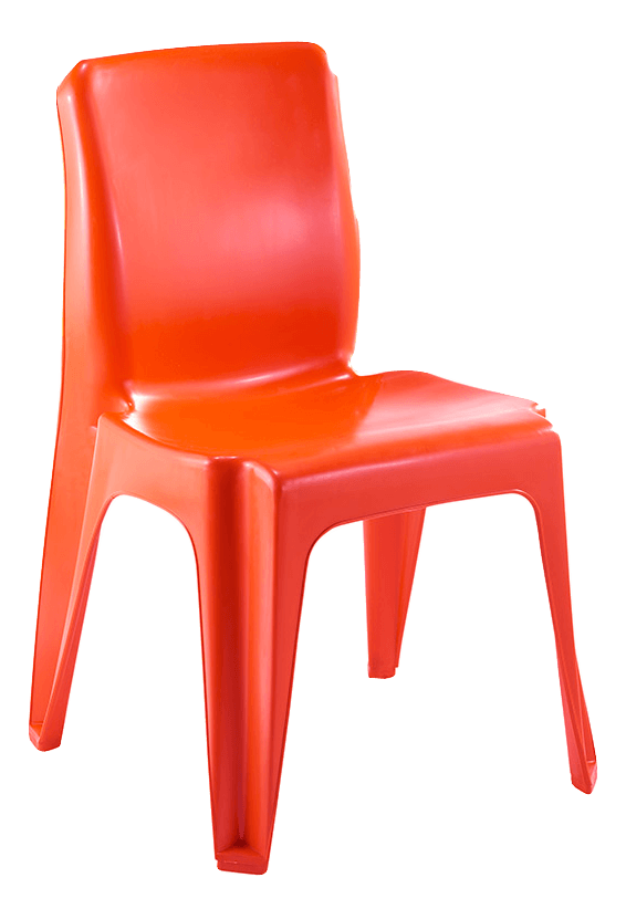 Maxi Chair Virgin Plastic Orange - SPECIAL (R107.00 For 100 & Over)