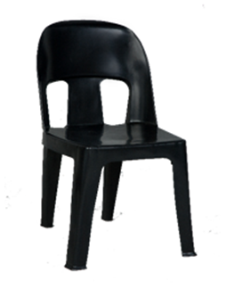 Africa Chair Recycled Plastic - SPECIAL (R44.00 For 100 & Over)