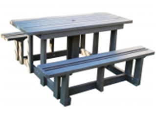 Standard Picnic Bench No Back
