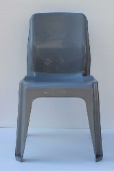 Maxi Chair Virgin Plastic Grey - SPECIAL (R107.00 For 100 & Over)