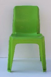 Maxi Chair Virgin Plastic Lime Green - SPECIAL (R107.00 For 100 & Over)