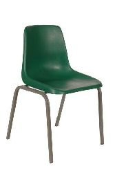 Polyshell Chair Virgin Plastic Green - SPECIAL (R110.00 For 100 & Over)