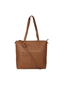 Everyday Structured Tote-Tan