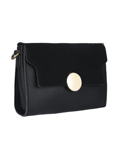 Button Me Sling - Black