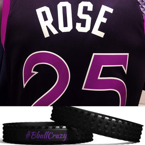 #BballCrazy  Black with purple in-lay