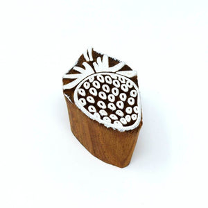 1 Big Size 4 Small Size Wooden Printing Stamps - Printing Stamp