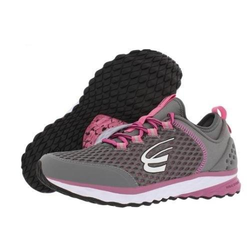 spira women's phoenix running shoe charcoal / berry / white
