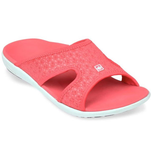 spenco breeze running recovery slide watermelon