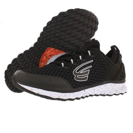 spira phoenix men's running shoe black white