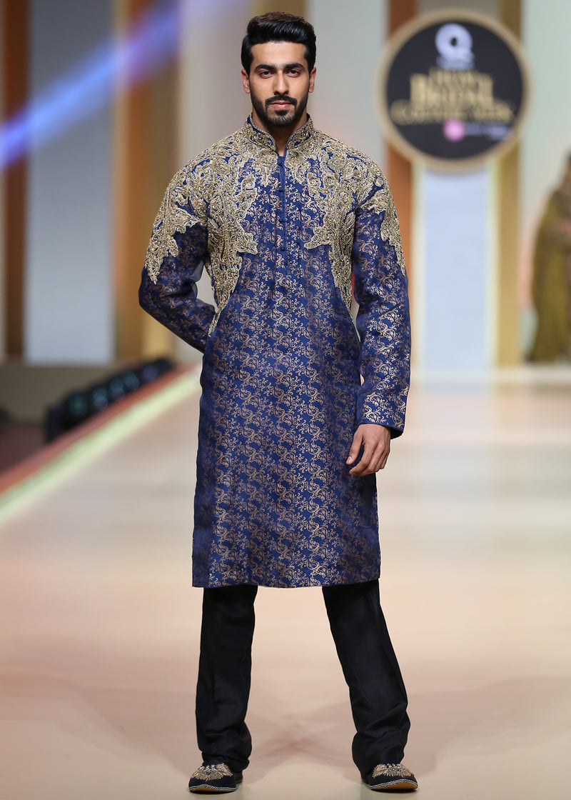 Royal Blue Kurta