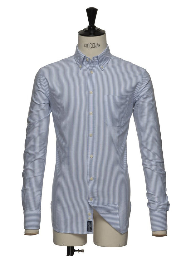 2903202 - Indigo Bow 32 Slim Fit - Sky Blue Stripe (501)