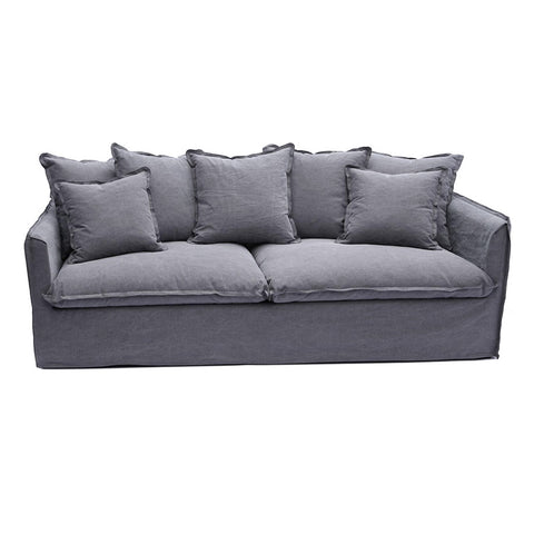 Coco 3 Seater Charcoal