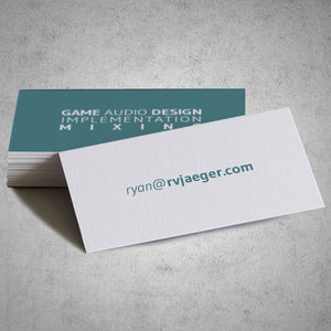 "2"" X 3.5"" 14PT Uncoated Business Cards Full Color"