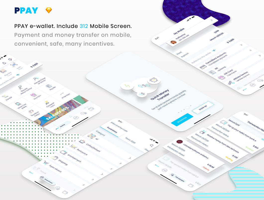 PPAY Wallet Mobile App - 29element